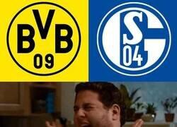 Enlace a Cuando te enteras que habrá derbi de Ruhr en el regreso de la Bundesliga