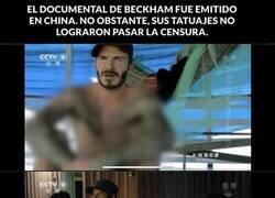 Enlace a La insólita censura a Beckham en la TV china