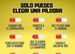 Enlace a ¿Qué pastilla te tomarías? Por @goalenespanol