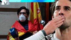 Enlace a Todos los culés y votantes de izquierdas están aplaudiendo a Isco por este 'like' en Twitter cargando contra los 'cayetanos' que salen a manifestarse a las calles