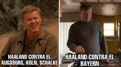 Enlace a Haaland contra el Bayern