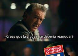 Enlace a El Lyon pide oficialmente que la Ligue 1 se reanude