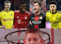 Enlace a El talento joven que posee la Bundesliga