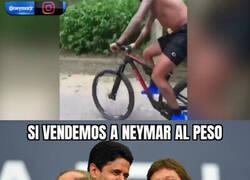 Enlace a Neymar se esta poniendo lozano