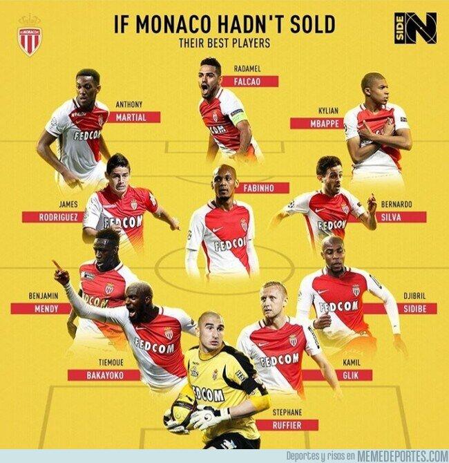 1105842 - El increíble 11 del Mónaco si no hubiera vendido a sus estrellas, por @inside_global