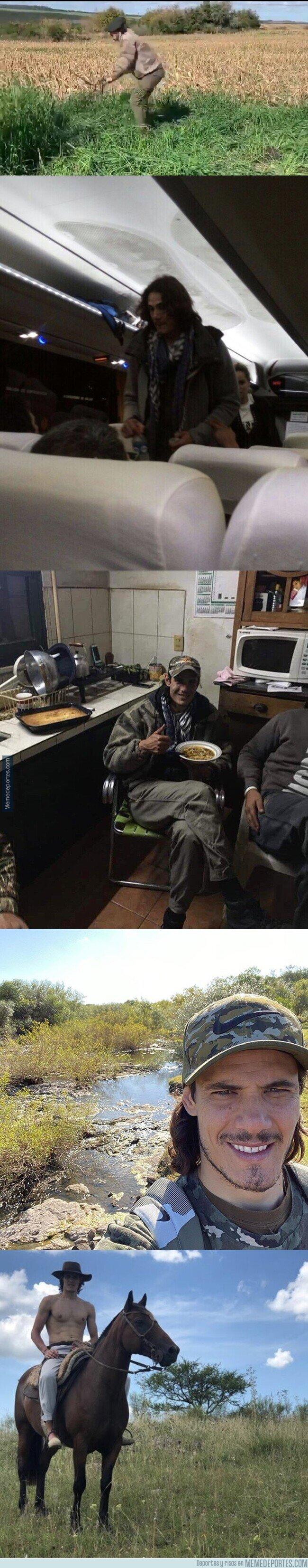 1106018 - Cuando Cavani llega a El Salto, desconecta completamente.