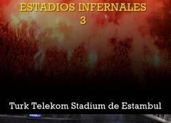 Enlace a Hoy en historias de estadios infernales: El Turk Telekom de Estambul con el que vas a flipar