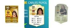 Enlace a La impecable evolución de Puyol en el FIFA