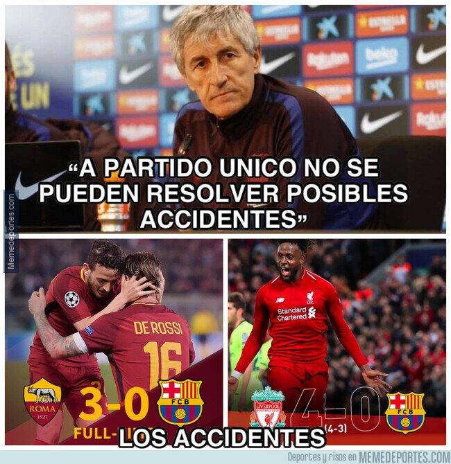 1106829 - Los accidentes del Barça
