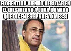 Enlace a Florentino le pone el ojo al nuevo Messi Luka Romero