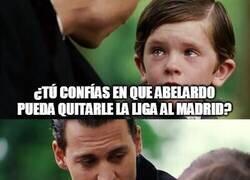 Enlace a Los culés al enterarse de que Abelardo acaba de ser destituido como entrenador del Espanyol
