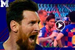 Enlace a El enfado increíble de Messi con Eder Sarabia que indica que hay ruptura total en el Barça