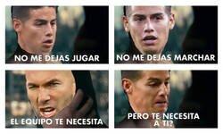 Enlace a Superjames no existe para Zidane