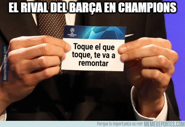 1109072 - El Barça y su destino en Champions