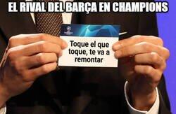 Enlace a El Barça y su destino en Champions