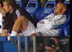 Enlace a Lo de Bale nos trae recuerdos a los madridistas, vaya dos leyendas