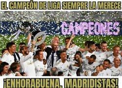 Enlace a El Madrid gana su 34a Liga