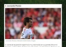 Enlace a 8 futbolistas reconocidos mundialmente que juegan en la liga de Argentina