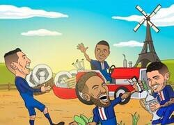 Enlace a El PSG gana el triplete de los granjeros, por @brfootball