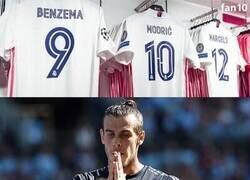 Enlace a La camiseta de Bale se queda fuera de la tienda