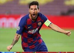 Enlace a Este Messi hace soñar a los culés