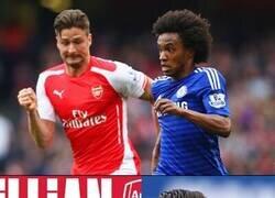 Enlace a El Arsenal y el Chelsea, como compañeros de habitación