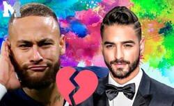 Enlace a La historia de como Neymar trolea a Maluma con su ex-novia que ahora es su pareja y consigue que el cantante cierre su Instagram