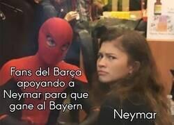 Enlace a Neymar quedó confuso