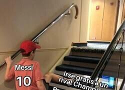 Enlace a No todo son prioridades para Messi