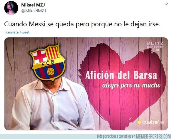 1114964 - Drama para Messi