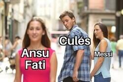 Enlace a Messi es insustituible