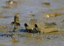Enlace a Gran partido del Arsenal