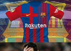 Enlace a La que podría ser la camiseta del Barça 2021/22