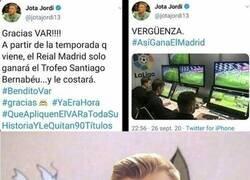 Enlace a Jota Jordi representando la penosa mentalidad barcelonista
