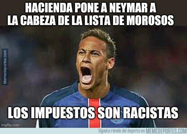 1116927 - La persecución a Neymar
