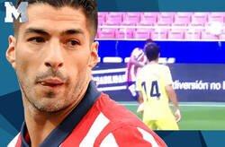 Enlace a Todo el mundo se está riendo de Luis Suárez por lo que ha hecho en pleno partido del Atleti