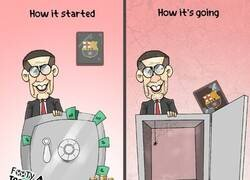 Enlace a Las cuentas del Barça tras la llegada de Bartomeu