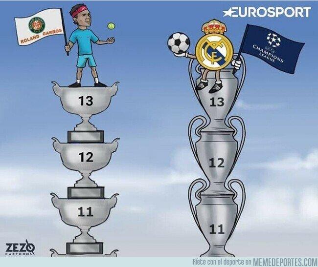 1117923 - Real Madrid y Rafa Nadal, vidas paralelas, por @zezocartoons