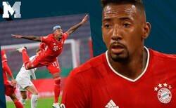 Enlace a A solicitud de Boateng, la comunidad le presentó los mejores chops después de esta foto en su partido de Copa