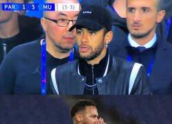Enlace a Dos años después, el United volvió a dejar a cuadros a Neymar