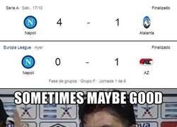 Enlace a El Napoli es un equipo extraño