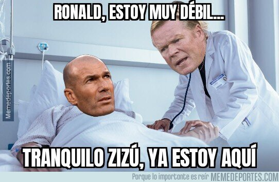 1118803 - Koeman salva a Zidane