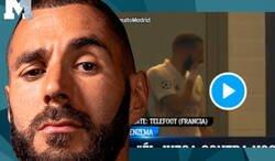 Enlace a Escándalo: Pillan a Benzema rajando de Vinicius en pleno partido de Champions con otros compañeros