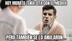 Enlace a Vaya racha, Morata...