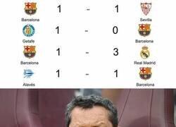 Enlace a 2 puntos de 12. El Barça de Koeman