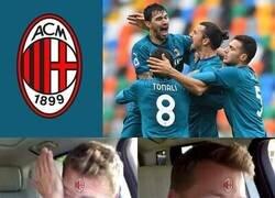 Enlace a Los hinchas del Milan viendo que llevan 24 partidos sin perder