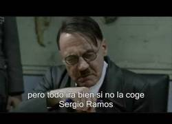 Enlace a Hitler se entera que a Sergio Ramos se le cae la Copa