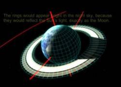 Enlace a Cómo sería la Tierra con anillos como los de Saturno