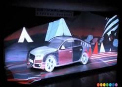 Enlace a Proyección 3D sobre un Audi