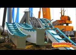 Enlace a Shambhala, la construcción de la montaña rusa más alta de Europa